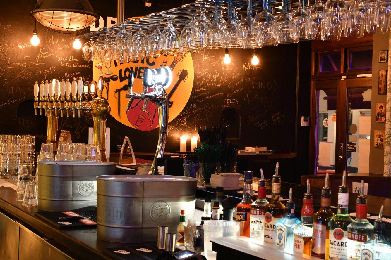 Hyggelig live bar i københavn